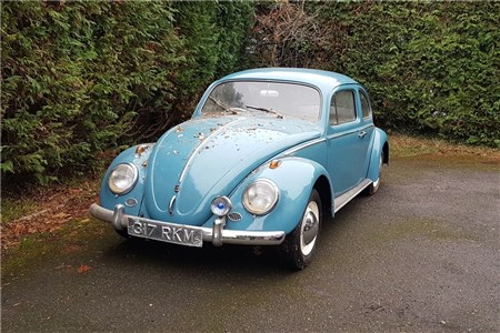 1961 Beetle - Garage stored for over 15 years -True
