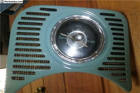 Og clock dated 2/57 6 volts