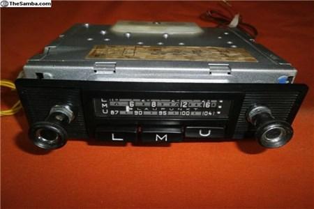 Restored Blaupunkt Essen radio- 12 V