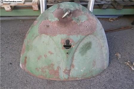 OG split beetle engine deck lid with handle
