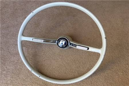 1964-65 Beetle/Karmann Ghia Steering Wheel