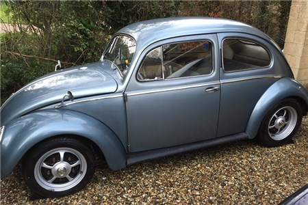 Swedish 1955 Oval Beetle, excellent condition