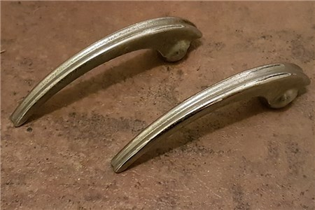 CLASSIC EARLY VW SPLIT WINDOW BEETLE INTERIOR RIBBED DOOR HANDLE PULLS