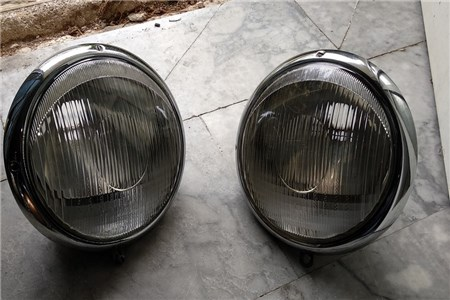 a pair headlights