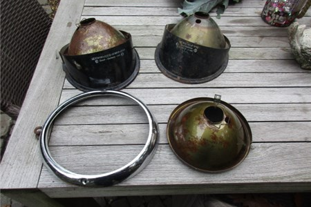 Early Bus headlights parts Bosch