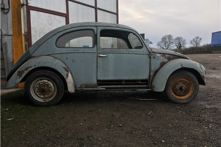 1950 Beetle Project. Very complete & solid car