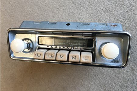 Blaupunkt Frankfurt FM Genuine VW accessory radio