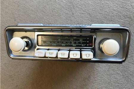 Blaupunkt Frankfurt FM Genuine VW Accessory Beetle Radio