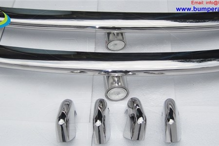 Volkswagen Type 3 bumpers ( 1963 - 1969 ) stainless steel