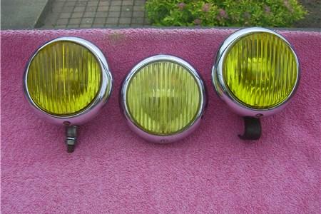 Body mounted yellow Fog Lights 356A