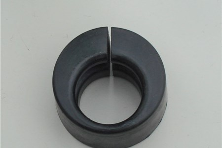 Nose cone rubber mount