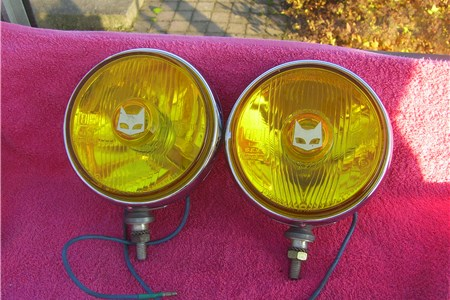 FS: Marchal 819 Yellow Driving Lights