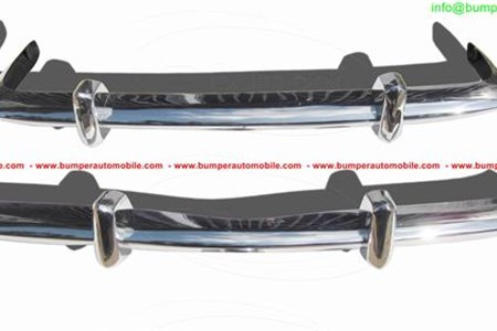 Volkswagen Karmann Ghia Euro style bumper (1956-1966) by stainless steel