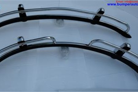 Volkswagen Beetle USA style bumper (1955-1972) by stainless steel