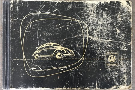 Genuine VW Parts List early Oval 1954