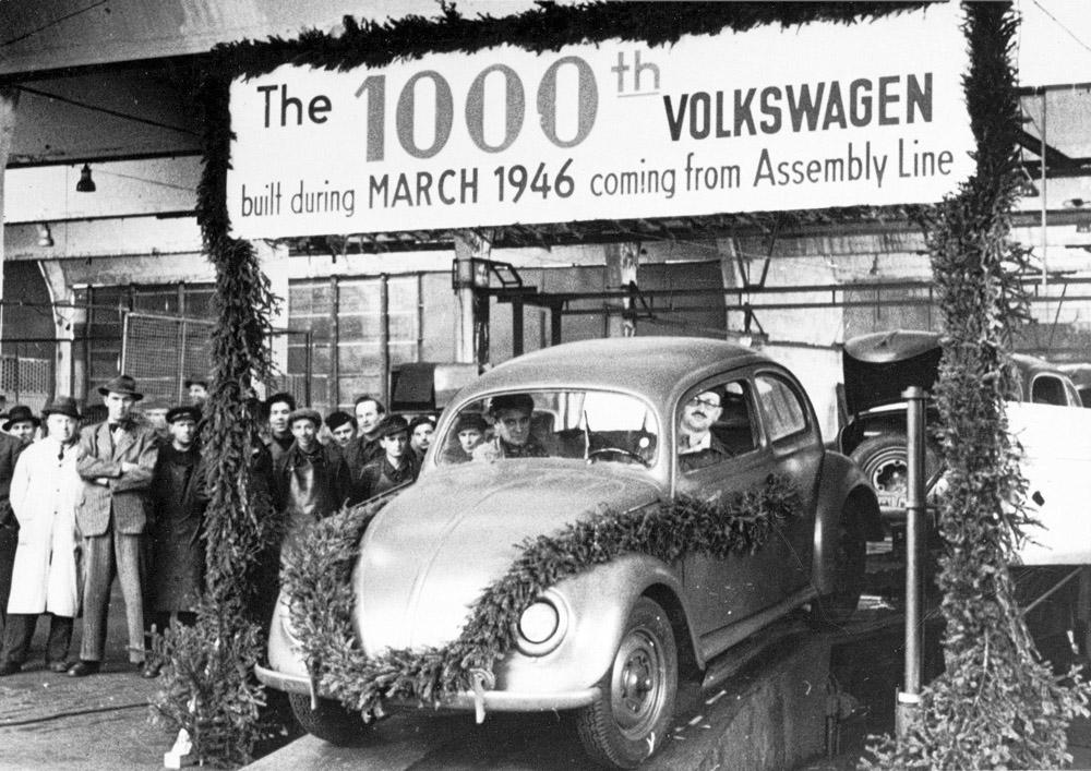 volkswagen history 1945 - 1985...